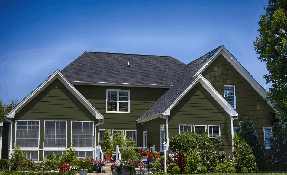 Dusty Green - Prefinished Siding from Sprenger Midwest