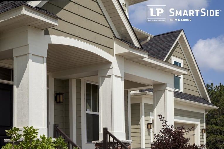 LP SmartSide + Sherwin WIlliams