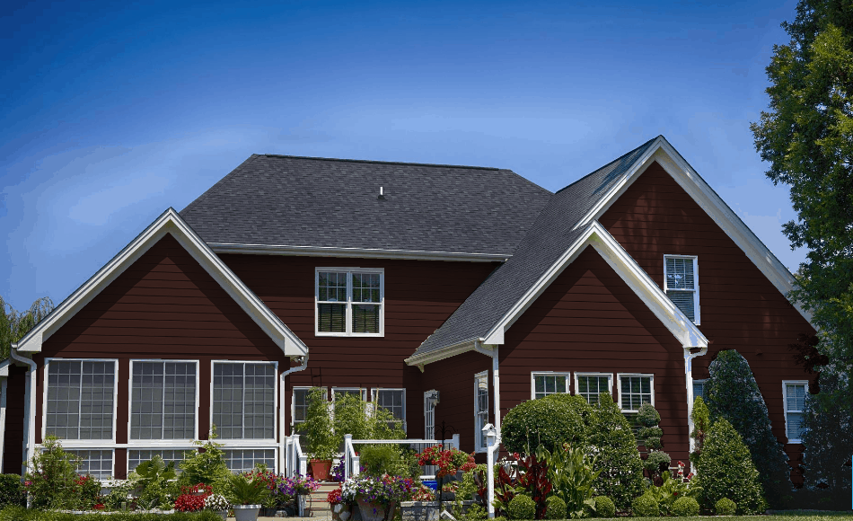 New Pilgrim Red - Prefinished Siding from Sprenger Midwest