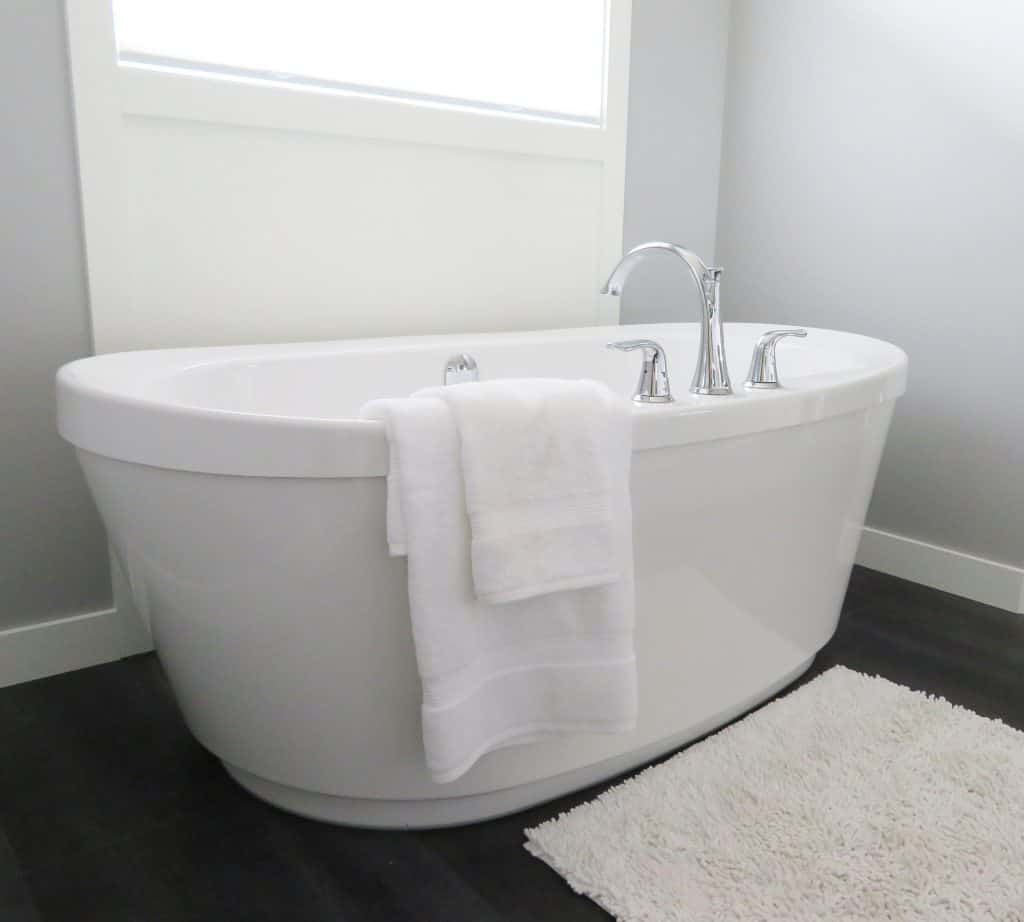 Upgraded Tub to Build Home Equity