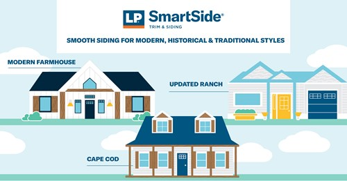 LP SmartSide Smooth Siding Infographic - Siding in the Midwest