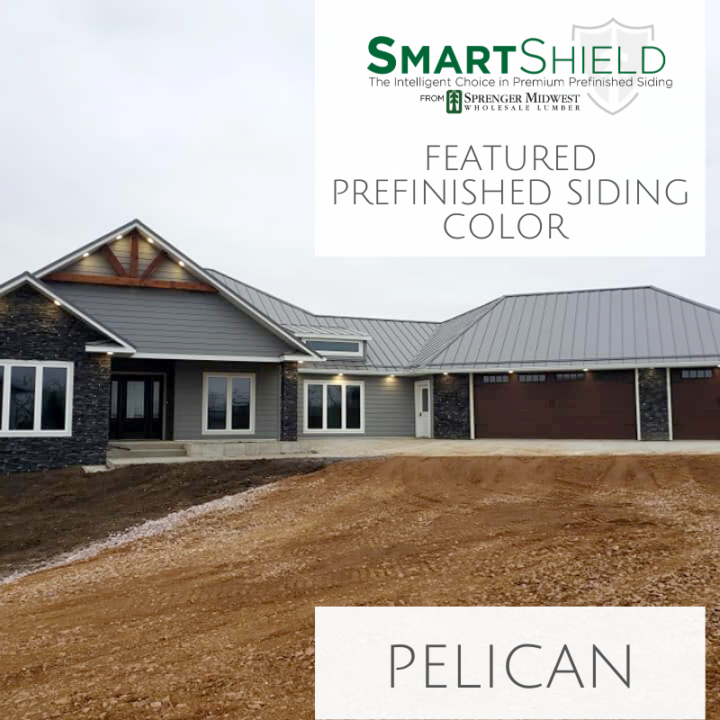 Top Siding Colors from Smart Shield Siding: Pelican