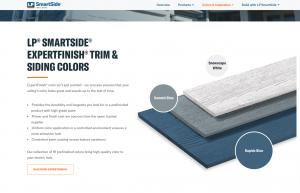 LP SmartSide Trim and Siding Color Guide