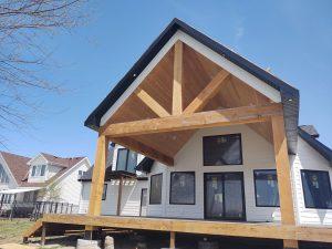 Cedar Porch Project Pic