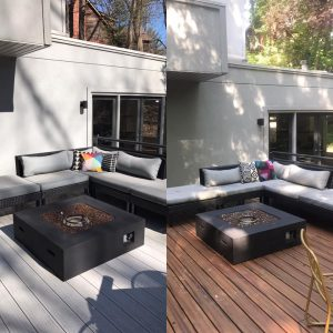 Armadillo Decking Before After Pictures