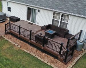 Composite Decking Available from Sprenger Midwest from Armadillo Decking