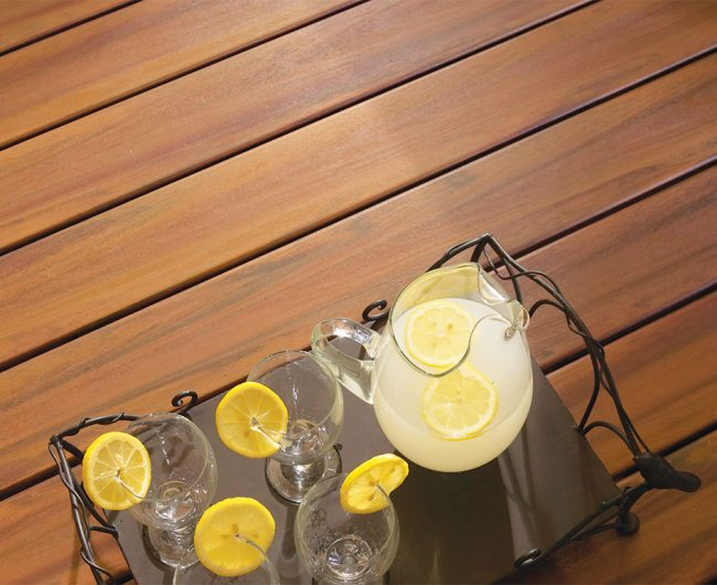 Campfire Composite Decking from Armadillo Decking and Stocked by Sprenger Midwest