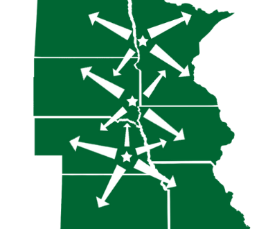 Sprenger Midwest Distribution Map