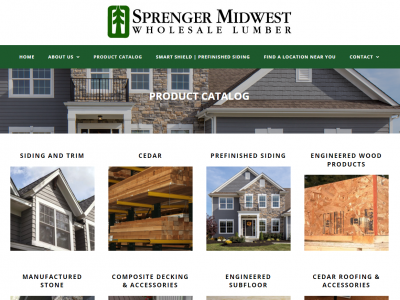 Sprenger Midwest Online Product Catalog